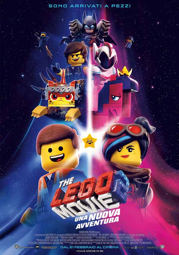 lego movie2 locandina